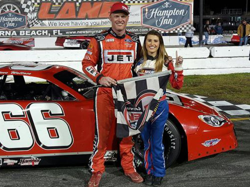 New Smyrna Chevy >> Wallace wins SLM World Series opener at New Smyrna | AccessWDUN.com