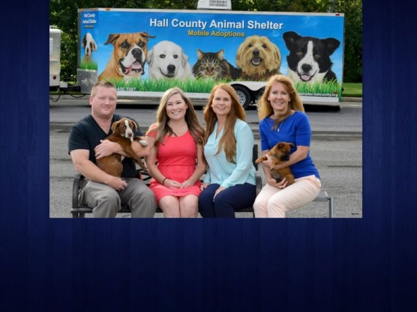 Mobile Dog Pound : Repurposed trailer gets new look for mobile pet adoptio